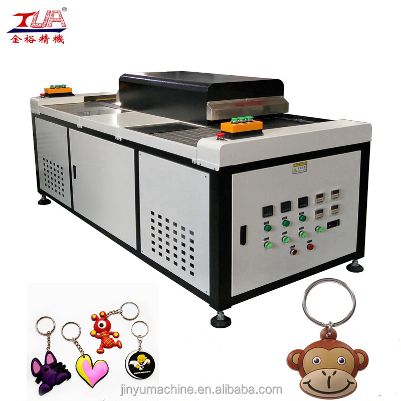 Dongguan Labor saving 3D Morale patch machine for shoes
