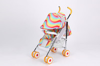 5-point safety harness avaliable front arms detachable adjustable best design fashional colorful european baby stroller