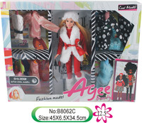 Good price fashion barbie toy doll cloth accessories