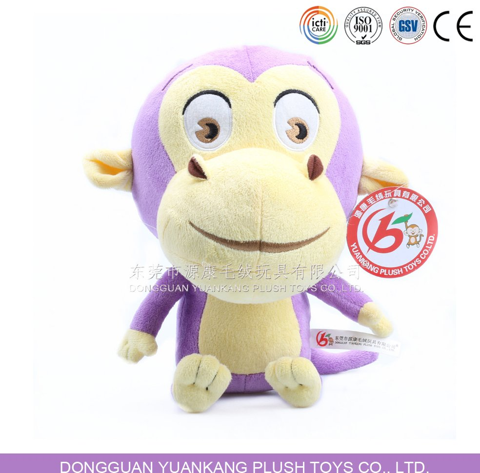 Cute Plush Monkey Soft Toy for Girl