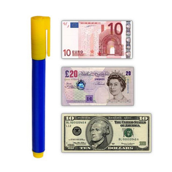 Portable Handheld Fake Money Detector Counterfeit Currency Pen