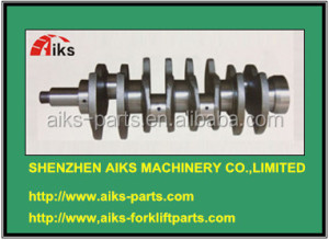 H25 Crankshaft N-12201-60K00 N-12351-50K10 H25 Forklift engine spare parts