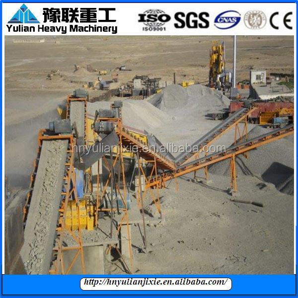 Innovative quartz sand making production line