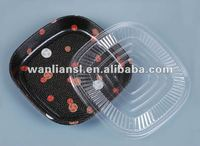 Japanese disposable sushi packing tray