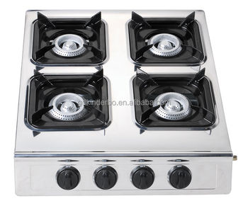 how to clean stainless steel gas stove top