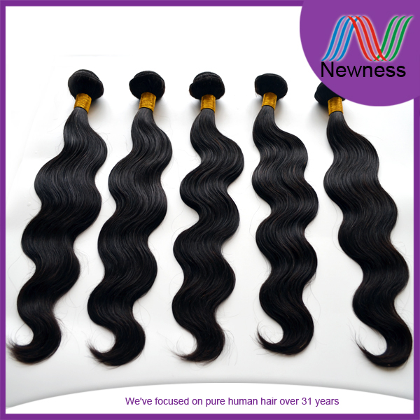 "14"" indian remy hair extension indian virgin hair supplier in China"