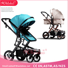 Factory wholesale shopping mall baby stroller 2017 model, 3 in 1 light weight american baby stroller