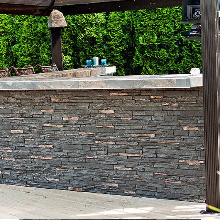Top selling polyurethane foam imitation stone stacked stone veneer exterior interior wall cladding