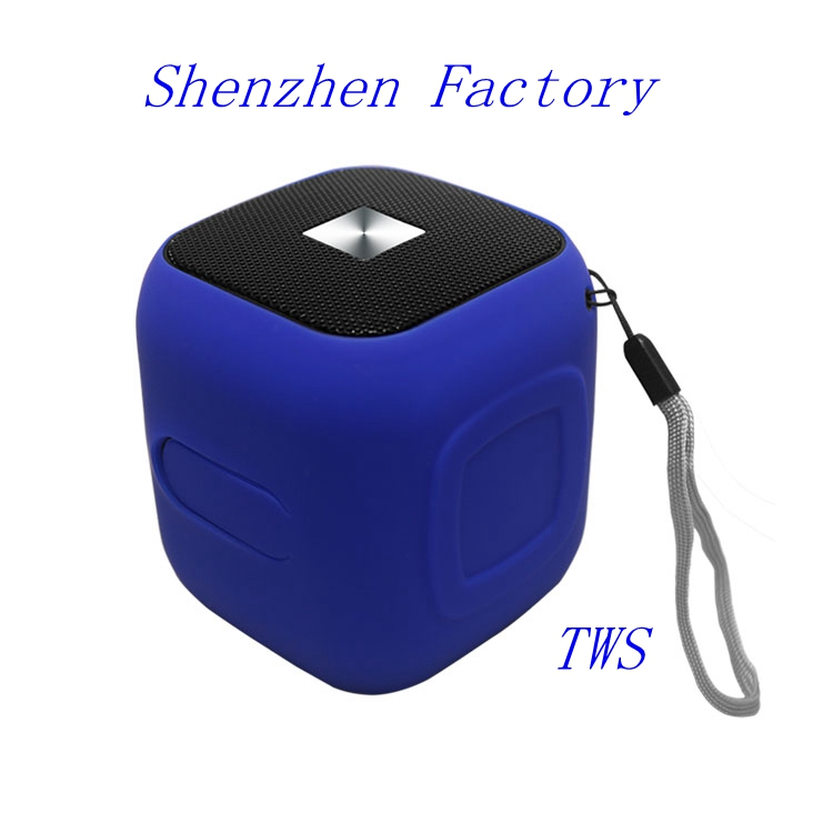 Bt FM Radio Bass Pack Outdoor Gantungan Kunci Silikon Persegi X3 Shower Portable Bauhn Lucu Tahan Air Bluetooth Speaker