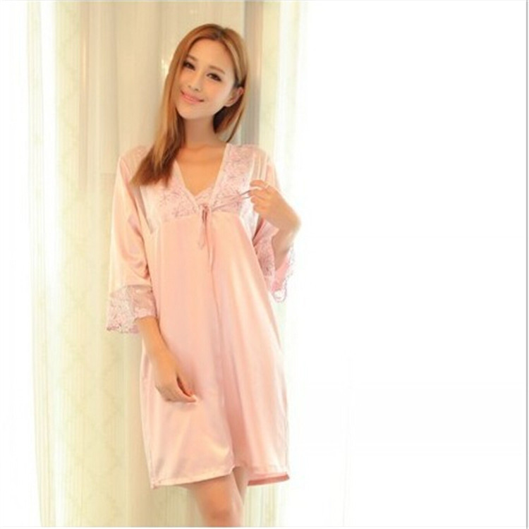 Buy 2015 White Sleep Shirt Women Sleepwear Chiffon Summer Night Clothing  For Ladies Women Plus Size in Cheap Price on Alibaba.com 40209cbac