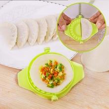 Kitchen Accessories Plastic Pack Dumpling Maker Mold Dumpling Tool Cooking Pastry Tools Random Color