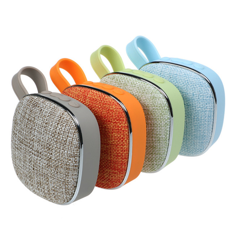 Factory Best Sale Perfect Sounds Mini Portable Wireless Fabric Speaker Bluetooth 2018 фото