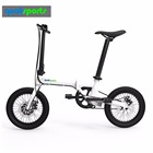 Compact Designed New Design Foldable Electric Bike 16 inch Folding Electric Bike Ebike with CE Certification