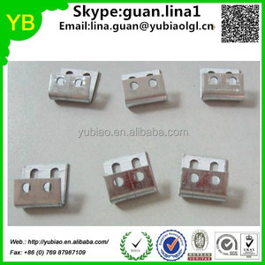 Custom 4 hole clip for sofa,zigzag spring,clip with White Plastic Cover ISO9001 passed