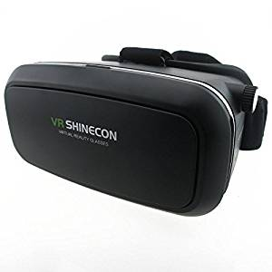 Premium Quality 3D VR Goggles Headset - Perfect Fit For Samsung, iphone, HTC, LG, Moto & Other Smartphones |3.5-6.0 VR Glasses For Movie and Gaming