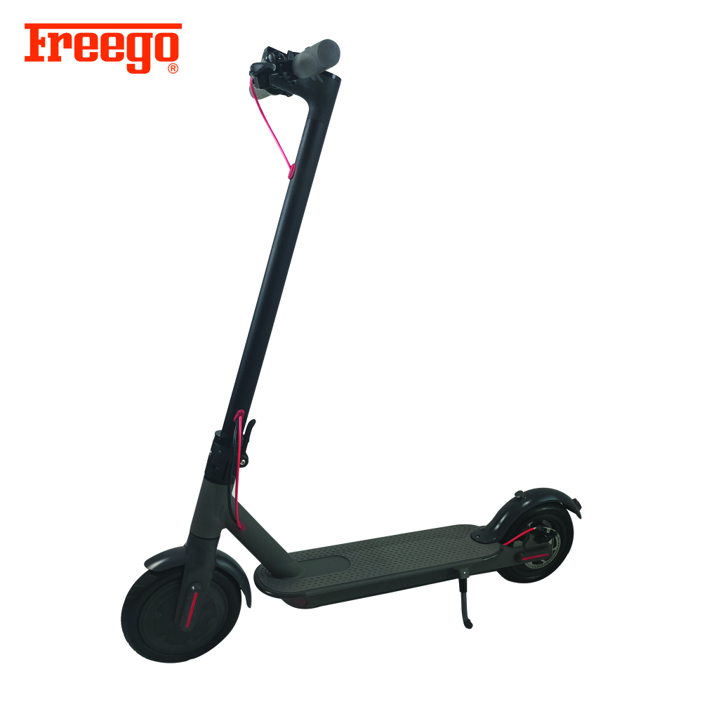 Direct factory 8.5-inch Front Motor 6Ah Lithium-ion Battery Solid Tire Folding Electric Kick Scooter, Customized