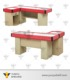OEM stainless steel used supermarket cashier equipment