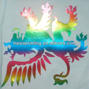 SGS approved textile screen golden color foil printing ink