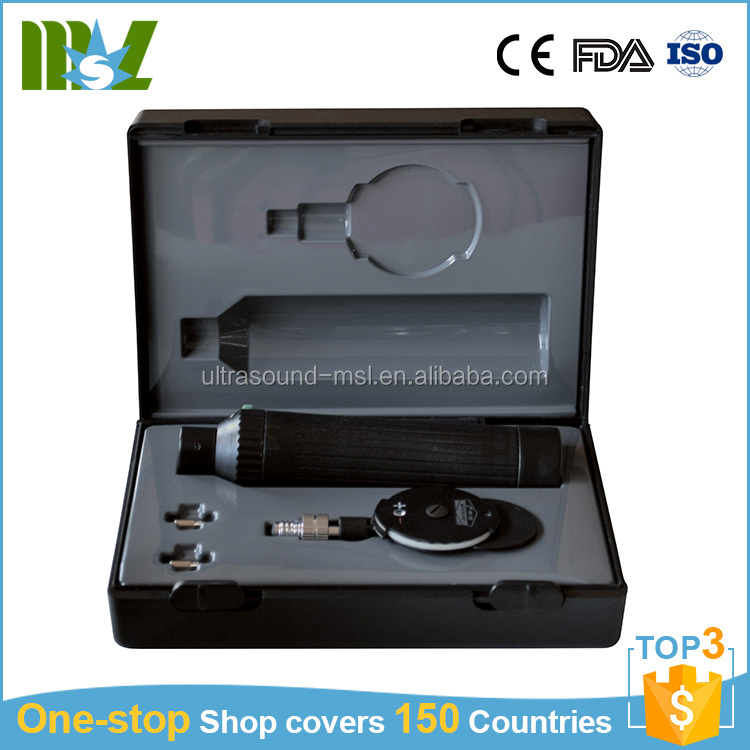 Cheap Direct Ophthalmoscope Retinoscope Diagnostic set Ophthalmoscope prices