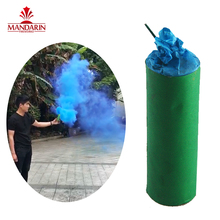 Chinese multi colored smoke tube hand hold smoke flare fireworks