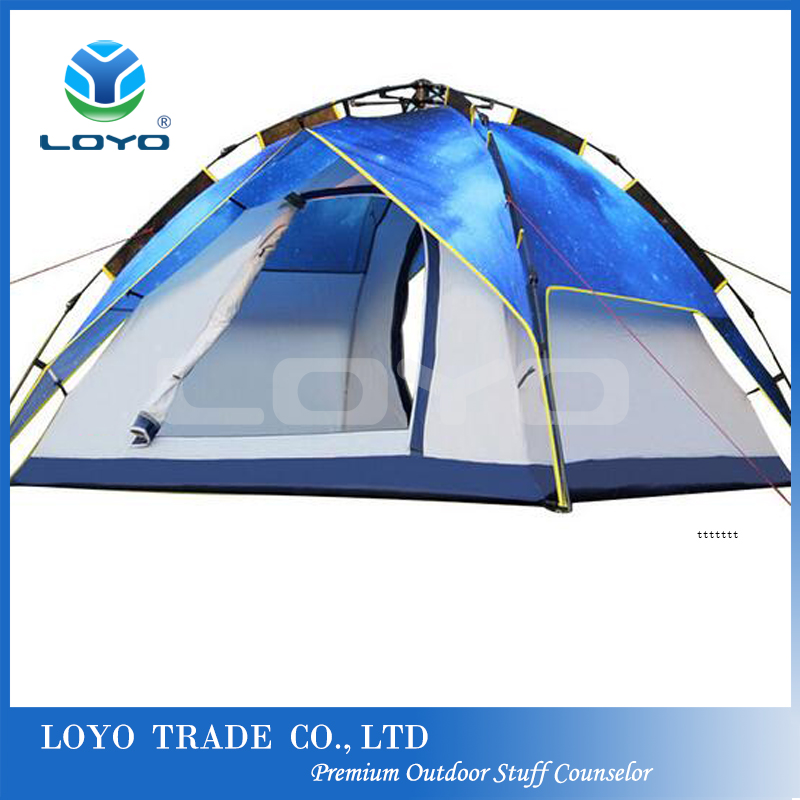 Family HeloTent Waterproof Outdoor Instant Camping Tent High Quality