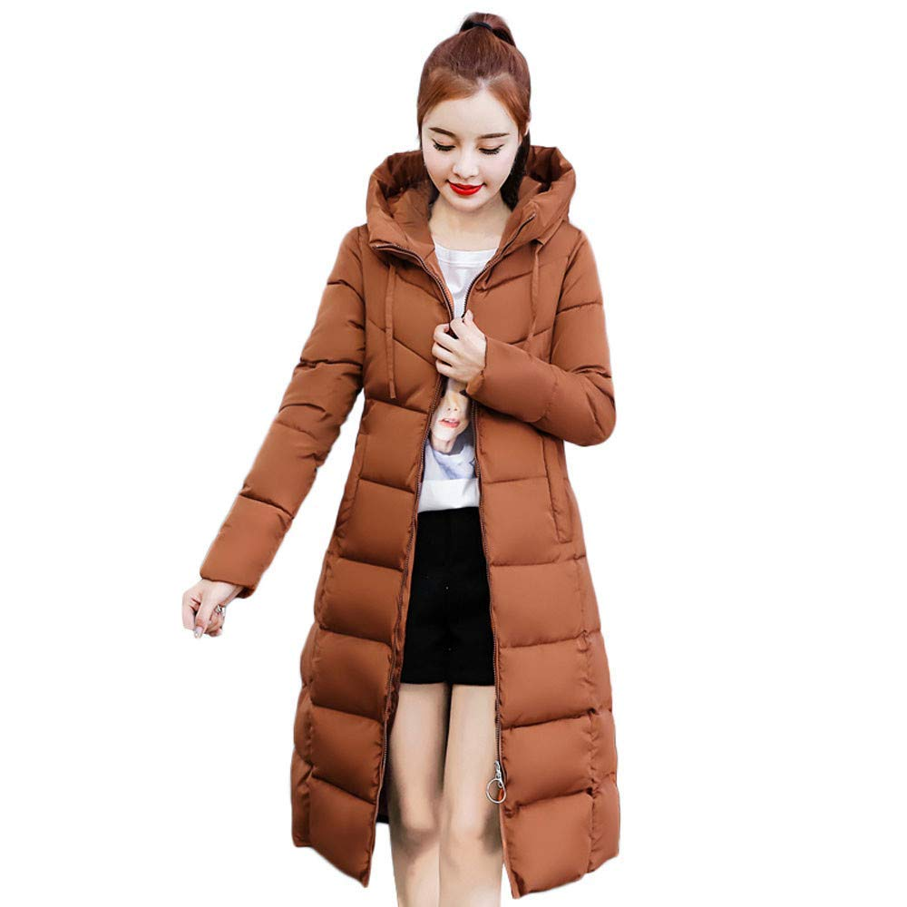 Adidome Ladies Black Parka Womens Coats and Jackets Womens Warm Winter Coats Parkas