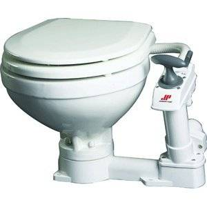 Johnson Pump Compact Manual Toilet-By BlueTECH