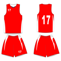 Digital print Custom Basketball Jersey Uniform