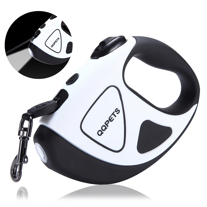 New Fashion Heavy Duty LED Light Automatic Retractable Dog Leash