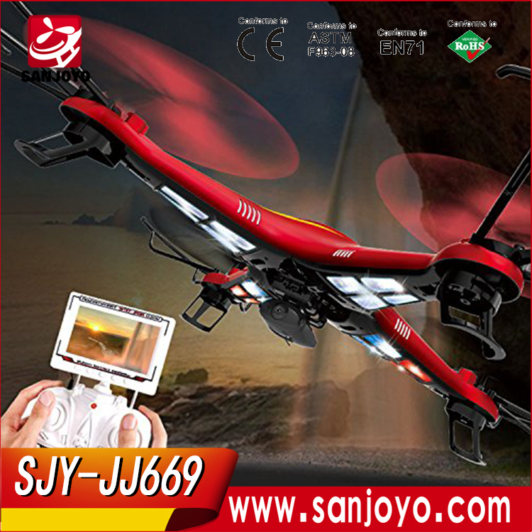 Wholesale hely toys online buy best hely toys from china best drone for sale jj669 4ch quadcopter with 2mp camera 3d led light uav aerial aircraft altavistaventures Gallery