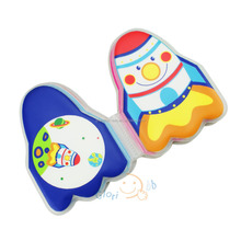 High Quality 2017 Promotional Best Kids Baby Bath Book With Eco-friendly Non-toxic PEVA and Sponge Mateirals