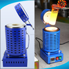 Small Portable Handled Gold Silver Copper Aluminum Metal Melting Foundry Furnace