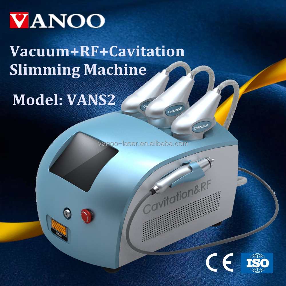 Portable Cavitation RF equipment/ cavitation body contour/ vacuum Multi functional RF beauty machine 4 in 1