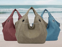 Latest New Design Shoulder Bags Women Canvas Fashion Bag