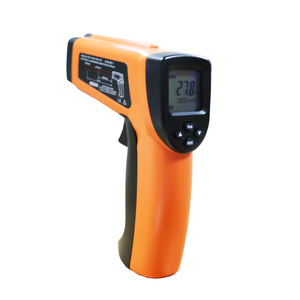 Digital Temperature Meter Product Named DT8016H Multifunction Infrared Laser Thermometer