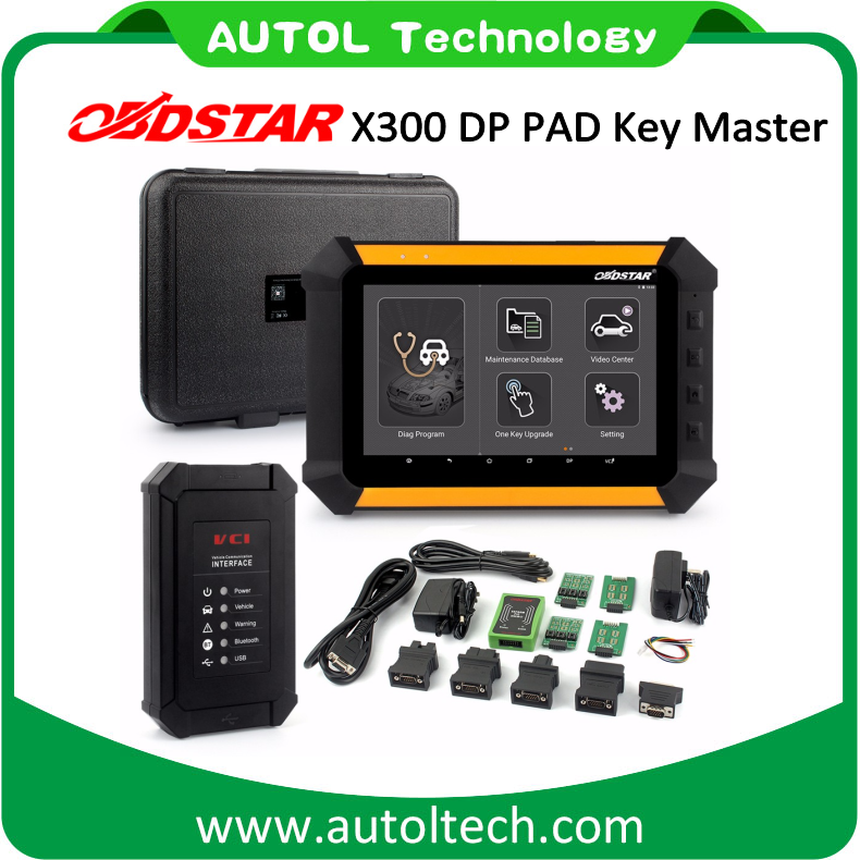OBDSTAR X300 DP PAD Key Master pro with Immobiliser + Odometer Adjustment x300 DP key programmer
