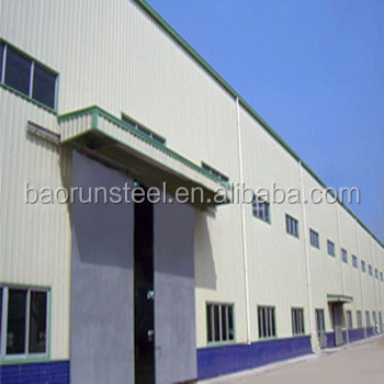 Prefabricated Space Frame Metal Shed Build Steel Structure Factory Building