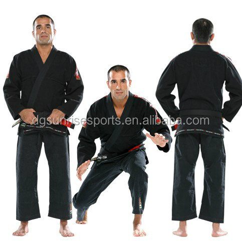 High Quality Black Colour Koral BJJ Kimono