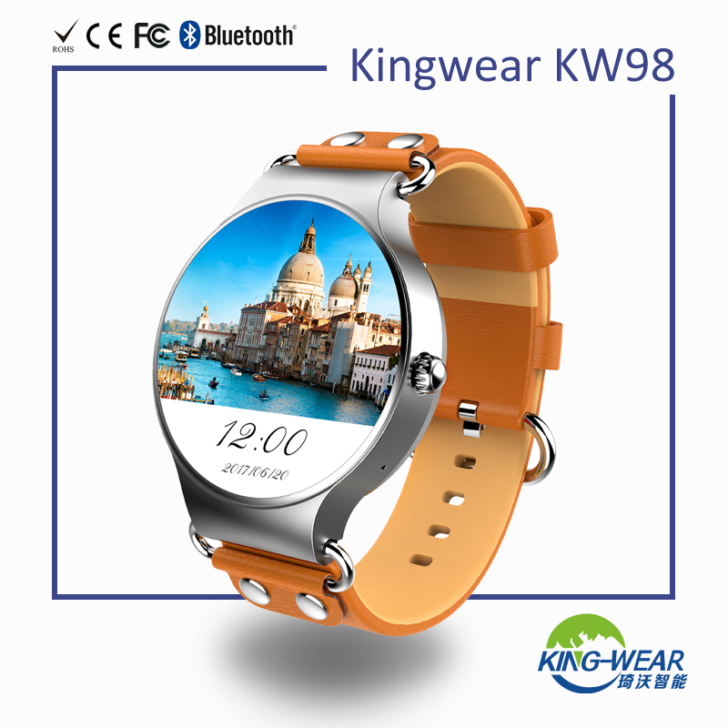 3G smart watch with WIFI GPS KW98 Kingwear
