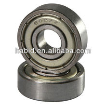 performance widely used carbon steel / chrome steel bearing 608 bearing