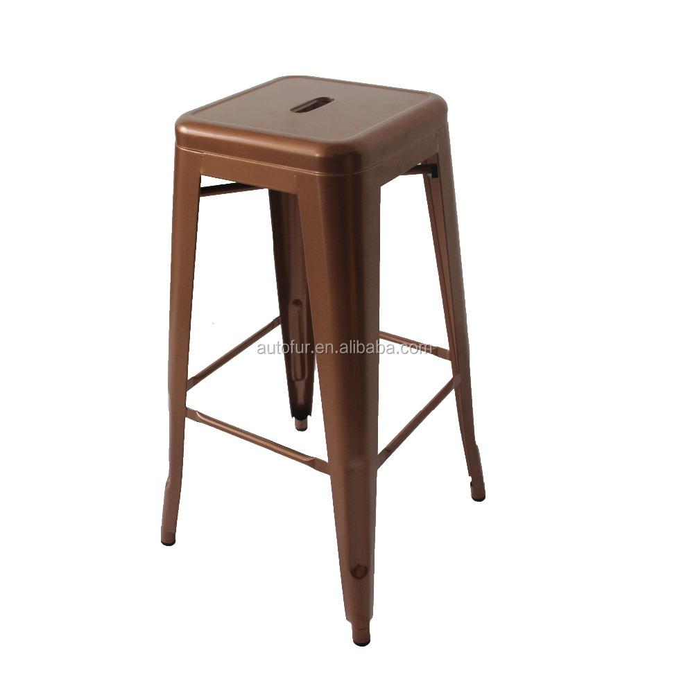 Copper Color Marais Bar Stools Metal Chair Buy Tubular Metal Chair Copper Chair Antique Metal Chairs Product On Alibaba Com