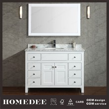 Classic Wooden hallway cabinet bathroom furniture for sale