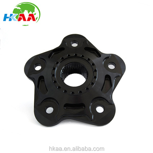 CNC Machined Precision anodized aluminum sprocket carrier for motorcycle