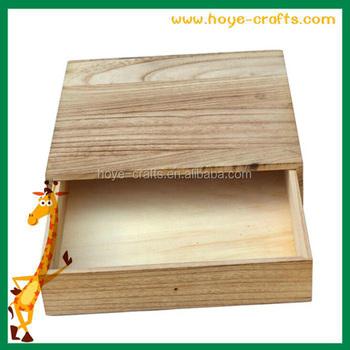 Handmade Wooden Keepsake Box Lacquered Wood Cigar