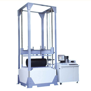 Servo computer type plastic pipe deformation compression tester