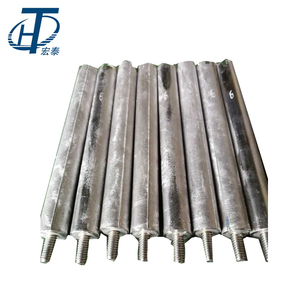 best quality solar water heater casting magnesium rod