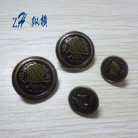 15mm&22mm Fancy hand-made buttons for ladies clothing/company logo metal button