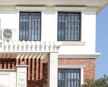 Galvaniced Iron Garden Design/ Indian House 2016 Latest Window Grill ...