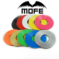 Hot selling Auto Accessories Rubber Wheel Rims Protector With 3m Adhesive Tape