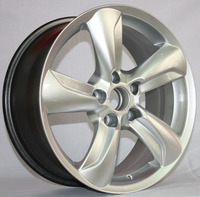 16/17/18inch Chinese car parts manufacturer supply aluminum alloy wheel rim